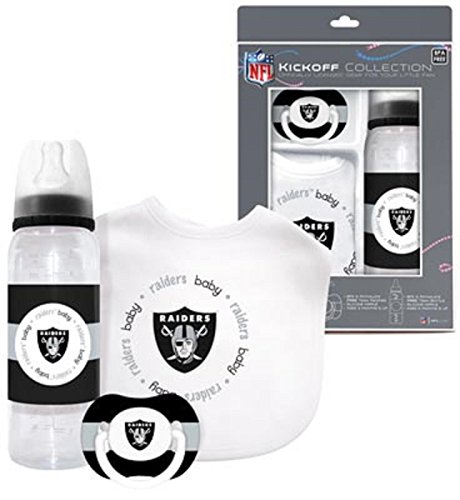 Oakland Raiders Kickoff Collection Baby Gear Bpa Free Nfl front-1076105
