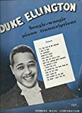 img - for Boogie Woogie Piano Transcriptions book / textbook / text book