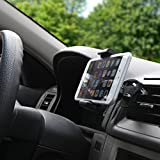 BoxWave EZView Car Mount Alcatel OT-808 Car Mount - Universal Car Vent Mount Smartphone Cradle Fits All Major Smartphones - Galaxy s5 / s4, iPhone 5s/5, Note 4, Note 3, HTC One, Nexus and More!