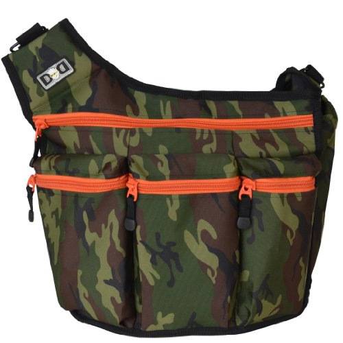 Diaper Dude Diaper Bag, Camouflage back-920186