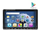 Car Stereo 2 Din In Dash Head Unit GPS Navigation Streeing Wheel Control Capacitive 7 inch HD Screen android 4.2.2 Vehicle DVD Video WIFI/3G/Bluetooth/SD/USB/Ipod/Iphone/AM/FM