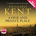 A Fine and Private Place Audiobook by Christobel Kent Narrated by Saul Reichlin