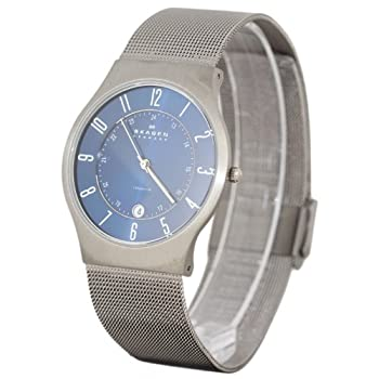 Skagen Watches 233XLTTN GREY BLUE