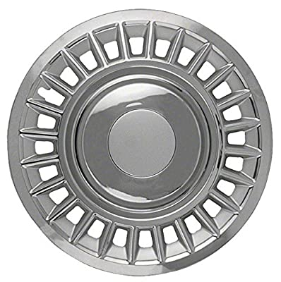 1998-2002 Ford Crown Victoria 16-inch Chrome Clip-On Hubcap Covers (Set of 4)
