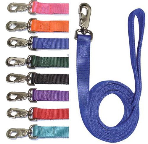 Double Nylon Lead Black 4' - Buy Double Nylon Lead Black 4' - Purchase Double Nylon Lead Black 4' (Leatherite, Products, Collars Leashes & Apparel)