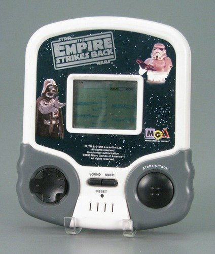 Star Wars The Empire Strikes Back LCD handheld video game MGA Micro Games of America 1995 - 1