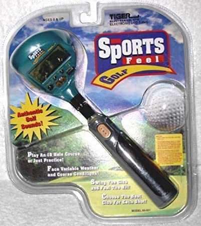 SPORTS FEEL GOLF HANDHELD GAME by TIGER