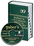Taber's Cyclopedic Medical Dictionary (INDEXED) & Taber's Electronic Medical Dictionary CD-ROM V 3.0