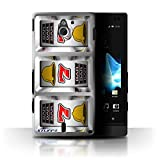 STUFF4 Phone Case Cover for Sony Xperia SolaMT27i Sevens Design Slot Machine Collection