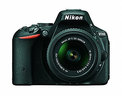 Nikon D5500 (with AF-S 18-55mm VRII Kit Lens) DSLR