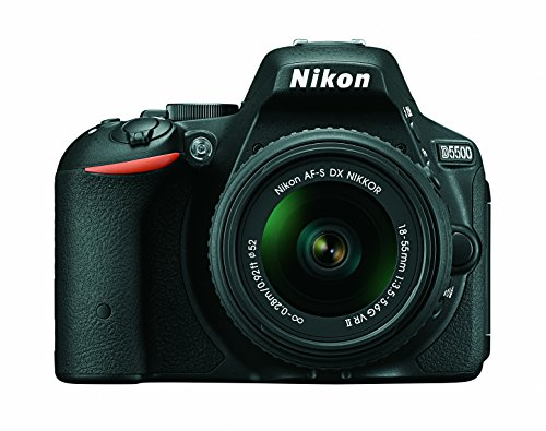 Nikon D5500 DX-format Digital SLR w/ 18-55mm VR II Kit (Black) - NIKON