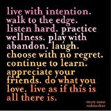 Live With Intention Journal
