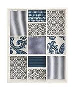 Satur Panel Portaobjetos Azul
