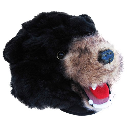 Black Grizzly Bear Cub Costume Fur