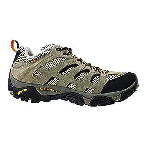 Men's Merrell Moab Ventilator Low Hiking Shoes, Walnut