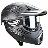 JT Elite HeadShield Single Paintball Mask (Black) ~ JT Sports
