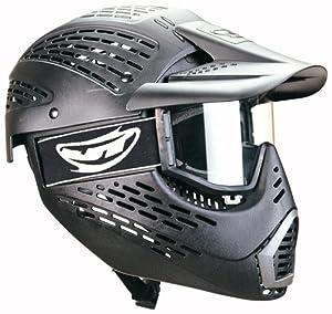 Buy JT Elite HeadShield Single Paintball Mask (Black) by JT Sports