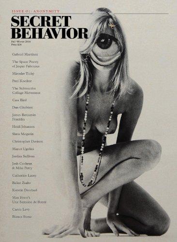 Secret Behaviour 01 - Anonymity