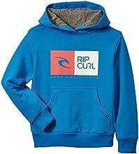 Rip Curl Money Sweat-Shirt à capuche Enfant Swedish Blue FR : 8 ans (Taille Fabricant : 8)