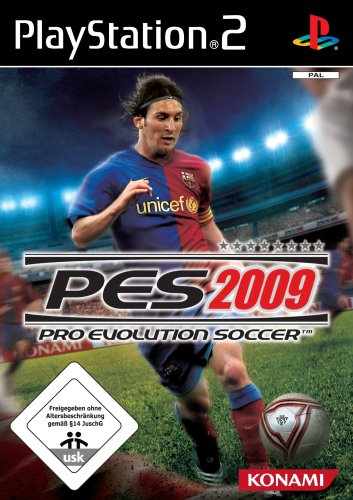 PES - Pro Evolution Soccer 2009, PlayStation2
