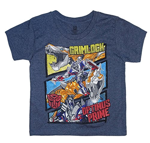 Transformers GRIMLOCK & OPTIMUS PRIME Little Boys Graphic T-Shirt