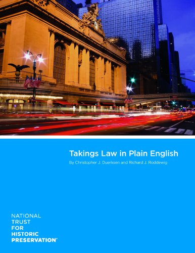 Takings Law in Plain English