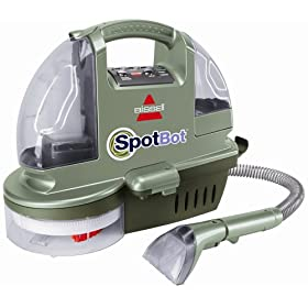 Bissell SpotBot Hands-Free Compact Carpet Deep Cleaner (Refurb)