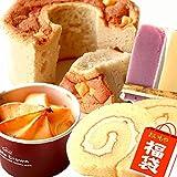 洋菓子のグルメセット 6種類 ポテトロール シフォンケーキ 林檎スイートポテト 大福