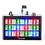 Eyourlife Strobe Light 12 LED RGB Flash Light Stage Party Lighting Sound Activated for Club Disco