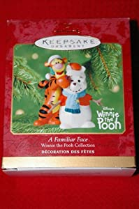 A Familiar Face Winnie the Pooh Collection 2001 Hallmark Keepsake ornament QXD4152