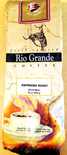 Rio Grande Coffee - Whole Bean - Espresso Roast - 1 Pound