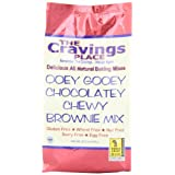 The Cravings Place Ooey Gooey Chocolatey Chewy Brownie Mix, 20.5-Ounce Bags (Pack of 6) ~ The Cravings Place