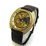 [ウォルサム]WALTHAM 腕時計 モナコ YGキャップ スケルトン メカニカル メンズ 中古