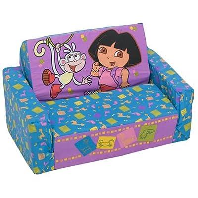 Rare Retired Spiderman Fold Couch Sofa Plush Childs Kids platform bedding