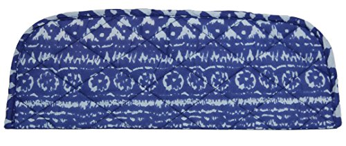 Carolina Sweethearts Quilted Blue Aztec Print Curling Flat Iron Heat-resistant Cover (Ciao Under The Seat Travel Case compare prices)