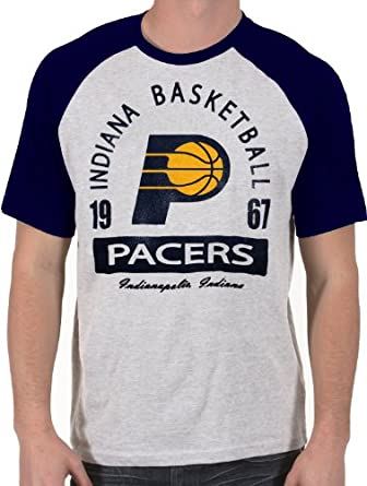 Majestic Youth Indiana Pacers Raglan Screen Tee by Majestic