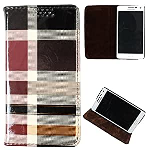DooDa PU Leather Flip Case Cover For Karbonn A50