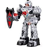 Large Remote Control Robot For Kids – Superb Fun Toy RC Robot – Remote Control Toy Shoots Missiles, Walks, Talks & Dances (10 Functions) By ThinkGizmos