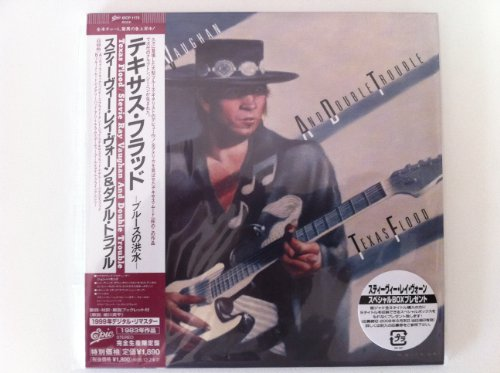 Texas Flood [Japanese papersleeve CD EICP 1173] by Stevie Ray Vaughan