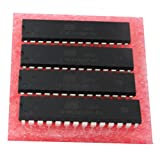 ATmega328 Atmega328p-pu DIP-28 Pin 8-bit Microcontroller with 32K Bytes In-System Programmable Flash Pack of 4