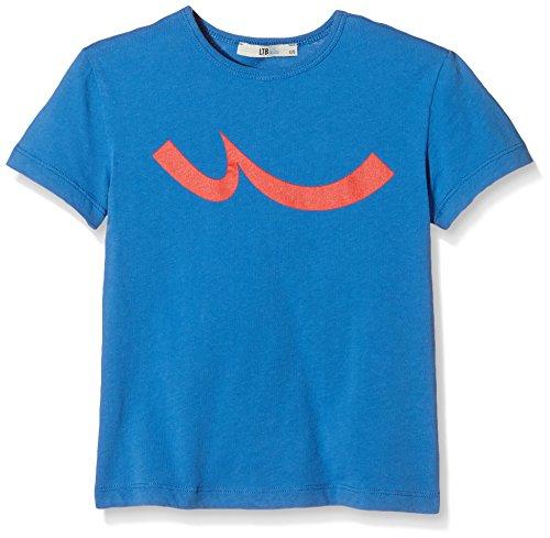 LTB Jeans Jungen T-Shirt METERA ATHLETE, Gr. 176 (Herstellergröße: 15-16 Jahre), Blau (STRONG BLUE 1370)