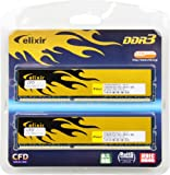 CFD販売  デスクトップPC用メモリ PC-12800(DDR3-1600) 4GB×2枚 240pin DIMM (無期限保証) (Elixirシリーズ) W3U1600HQ-4G