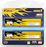 CFD販売  デスクトップPC用メモリ PC-12800(DDR3-1600) 4GB×2枚 240pin DIMM (無期限保証) (Elixirシリーズ) W3U1600HQ-4G ランキングお取り寄せ