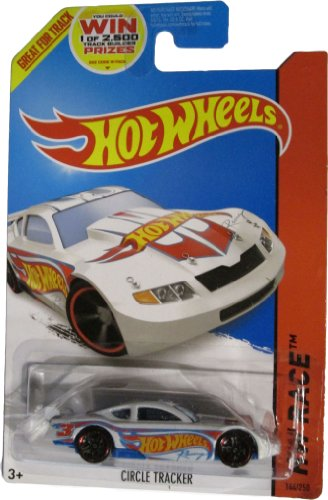 Hot Wheels 2014 Hw Race Team White Circle Tracker 144/250