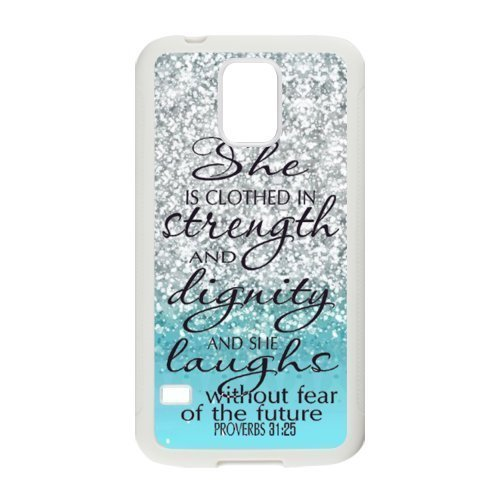 Bible-Verse-Phone-Case-TPU-Case-Cover-for-Samsung-Galaxy-S5-Blue