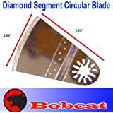 Diamond Segment Circular Grout Tile Cut Oscillating Multi Tool Saw Blades for Fein Multimaster Bosch Multi-x Craftsman Nextec Dremel Multi-max Ridgid Dremel Chicago