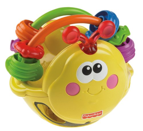 Fisher-Price Go Baby Go! Gigglin' Bee Ball - 1