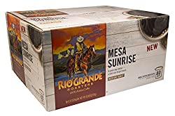 Rio Grande Roasters Mesa Sunrise Coffee Single Serve K-Cup, 80 Count (Compatible with 2.0 Keurig Brewers) from Rio Grande Roasters