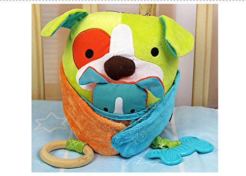 Hug And Hide Activity Toy Dog Baby Rattle Toys 0-12 Months Kids Gifts For Newborn front-1053019