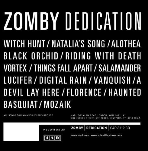 Dedication by Zomby
